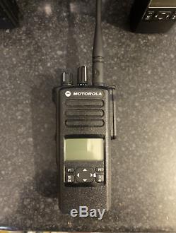 1 x MOTOROLA MOTOTRBO DP4600 UHF Two way radio, battery and antennae