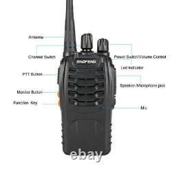 10 Pack Baofeng BF-888S Walkie Talkie 2 Two Way Radio Handheld Long Range GMRS
