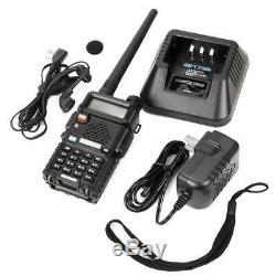 10 Pcs Baofeng UV-5R 5W Dual Band Two-way Ham Radio Transceiver Walkie Talkie