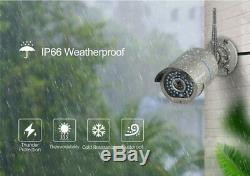 1080P Outdoor Wireless Two Way Audio Video Security Camera +8CH WIFI NVR System
