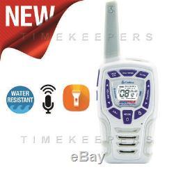 10Km Cobra AM845 Snow Two Way PMR 446 Walkie Talkie Radio Six + 6 Headsets