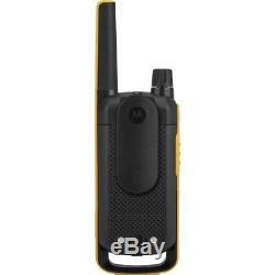 10Km Motorola TLKR T82 Extreme IPX4 Walkie Talk Two Way PMR Radios Quad Pack