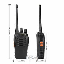 10XRetevis Walkie Talkie two-way Radio H777 1000mAh 16CH UHF400-470MHz+10xMic US