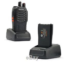 10x BaoFeng BF 888 S UHF Long Range Portable Handheld Two-way Amature Ham Radio