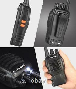 10x Baofeng BF-888S 5W Two-way Radio UHF 400-470MHz Handheld HT Walkie Talkie