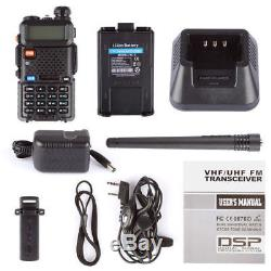 10x Baofeng UV-5R V/UHF 136-174/400-520MHz CTCSS Dual-Dand FM Ham Two-way Radio