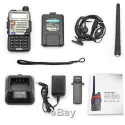 10x New Baofeng UV-5R Plus 136-174/400-520MHz Ham Two-way Radio Walkie Talkie HT