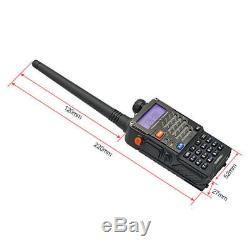 10x Original Baofeng UV-5R Plus + Earpieces 2m/70cm Band V/UHF Ham Two-way Radio