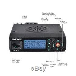 1Pcs Dual Band Car Radio Two Way Radio VHF/UHF 25W 128 Channels MINI Mobile Radi