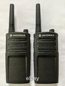 2 Refubished Motorola RMU2040 UHF Two-way Radios 2 watts 4 channels