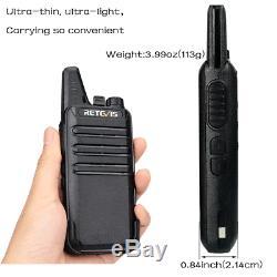 20pcs FRS Retevis RT22 Walkie Talkie Licensefree 2W UHF 400-480MHz Two-Way Radio