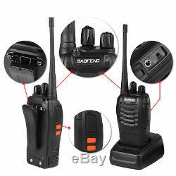 20x Baofeng BF-888S 5W Two-way Radio UHF 400-470MHz Handheld HT Walkie Talkie
