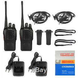 20x Baofeng BF-888S UHF Ham Two-way Radio Handheld 5W Walkie Talkie + Earpiece