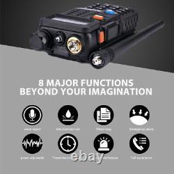3x BAOFENG BF-F8+ III Tri-Band UHF/VHF Walkie Talkie Long Range FM Two Way Radio