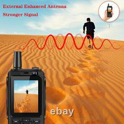 4G LTE Android Rugged Waterproof Smartphone Zello Two-way Walkie Talkie Radio