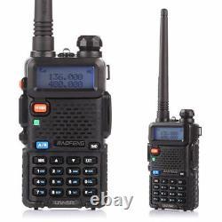 4Pack Baofeng UV-5R Two-way Radio VHF/UHF Dual Band Ham FM Transceiver