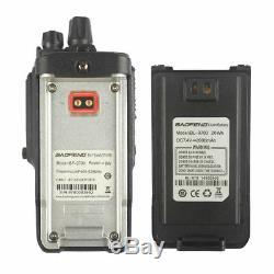 5x Baofeng BF-9700 Waterproof UHF Portable Walkie Talkie Two-way Radio + Cable