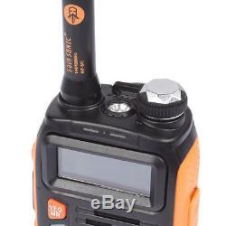 5x Baofeng GT-3 MKII VHF UHF 2m/70cm Band Ham Two-way Radio Interphone + Speaker