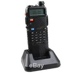 6 PCS BaoFeng UV-5R Dual Band UHF/VHF Two Way Radio Transceiver 3800mah Battery