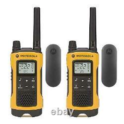 6 Pack Set Talkabout T402 Walkie Talkie 35 Mile Two Way Radio Waterproof