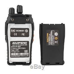 6 x Baofeng BF-888S Two Way Radio 400-470MHz Walkie Talkie Set with Flashlight