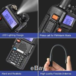 6 x Baofeng UV-5R Dual Band V/UHF Two Way Ham Radio Walkie Talkie Set 5W 128CH