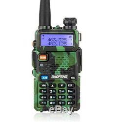 6 x Baofeng UV-5R LCD Two Way Ham Radio VHF UHF 2 Band Walkie Talkie Transceiver