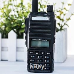 6PCS Baofeng UV-82 Dual Band Two-Way Radio Walkie 136-174MHz VHF 400-520MHz UHF