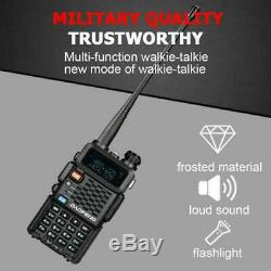 6PCS Baofeng UV-F8+(UV-5R Upgrade) UHF VHF Dual Band Two Way Radio Walkie Talkie
