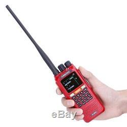 ABBREE AR-889G GPS 10W SOS Cross Band Repeater Tri Band 10km Radio Two Way Radio