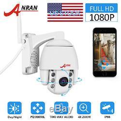 ANRAN Signal CCTV Security Camera Pan/Tilt Zoom Wireless Two-way Audio Outdoor