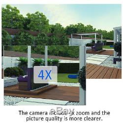 ANRAN Wireless 1080P Security Camera 4xZoom Audio CCTV Outdoor IP Two-way Voice