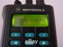 ASTRO SABER 3 III Motorola 800MHz P25 AND DIGITAL WITH NEW BATTERY