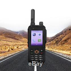 Android 4G WIFI BT Mobile Cell Phone Walkie Talkie Two Way Ham Radio 8MP Camera