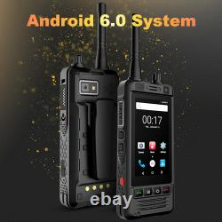 Android Walkie Talkie Two Way Radio WiFi Smartphone Mobile Cell Phone SIM Card