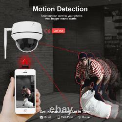 Anpviz 5MP WIFI Security Camera Wireless Outdoor 5X Optical Zoom Two-way Audio