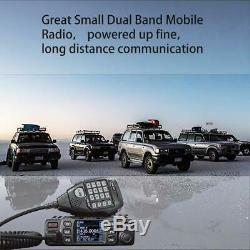 Anytone AT-778UV Dual-Band 136-174Mhz & 400-490Mhz 25W Two Way Radio US Seller