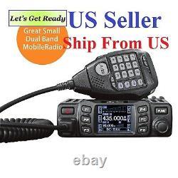 Anytone AT-778UV Dual-Band VHF/UHF 25W Mobile Two Way Radio US Seller