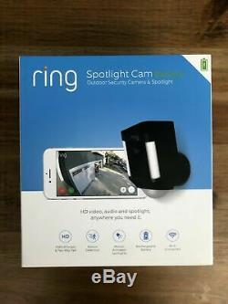 BRAND NEW! Ring Spotlight Cam Battery HD Security Camera Two-Way Talk, Alarm