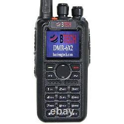 BTECH DMR-6X2 (DMR and Analog) 7-Watt Dual Band Two-Way Radio 136-174MHz VHF
