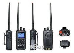 BTech DMR-6X2 DMR and Analog 7-Watt Dual Band Two-Way Radio w GPS and Recording