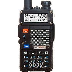 BaoFeng BF-F8HP UV-5R 3rd Gen 8-Watt Dual Band Two-Way Radio 136-174MHz VHF &