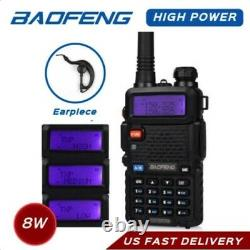 Baofeng BF-F8HP 8-Watt Tri Band & Power Two-Way Radio VHF-UHF-FM Ships from USA