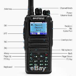 Baofeng DMR DM-1701 Dual Band VHF/UHF Tier2 3000CH SMS Digital Two way Radio