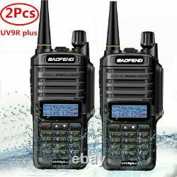 Baofeng Uv-9r Plus Walkie Talkie Vhf Uhf Dual Band 10w Handheld Two Way Radio