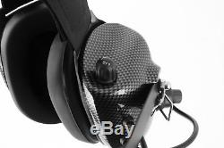 Behind The Head Two Way Radio Race Headset Kenwood RH5R Baofeng Coil Cord Cable