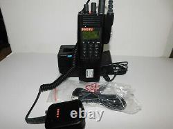 Complete Thales Racal 25 T25 PRC6894 VHF P25 DES AES Digital Portable Radio V505