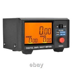 DG-503 Digital LCD 3.5 SWR/Watt Meter 1.6-60MHz/125-525MHz for Two-way Radio