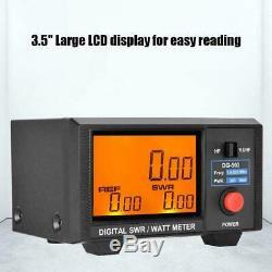 Digital LCD 3.5in 0-200W SWR/Watt Meter for Two-way Radio Walkie Talkie DG-503