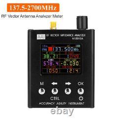 English verison N1201SA 140-2700MHz UV RF Vector Impedance SWR Antenna Analyzer